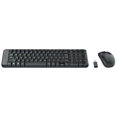 Logitech Mk220 Wireless Desktop Set Buy Online In South Africa
