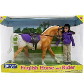 Breyer Classics English Horse & Rider
