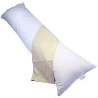 Bodypillow Medi-Line T233 100% Pure Cotton - T200 Pillowcase Included - Stone
