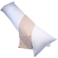 Bodypillow Medi-Line T233 100% Pure Cotton - T200 Pillowcase Included - Coffee