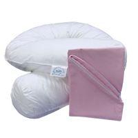 Bodypillow Comfi-Curve T233 100% Pure Cotton - T200 Pillowcase Included - Pink