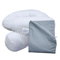 Bodypillow Comfi-Curve T233 100% Pure Cotton - T200 Pillowcase Included - Wedgewood Blue