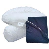 Bodypillow Comfi-Curve T233 100% Pure Cotton - T200 Pillowcase Included - Navy