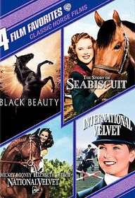 4 Film Favorites:Classic Horse Films - (Region 1 Import DVD)