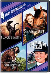 4 Film Favorites:Classic Horse Films - (Region 1 Import DVD)