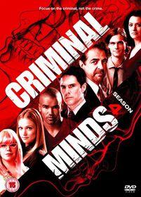Criminal Minds - Season 4 [DVD]