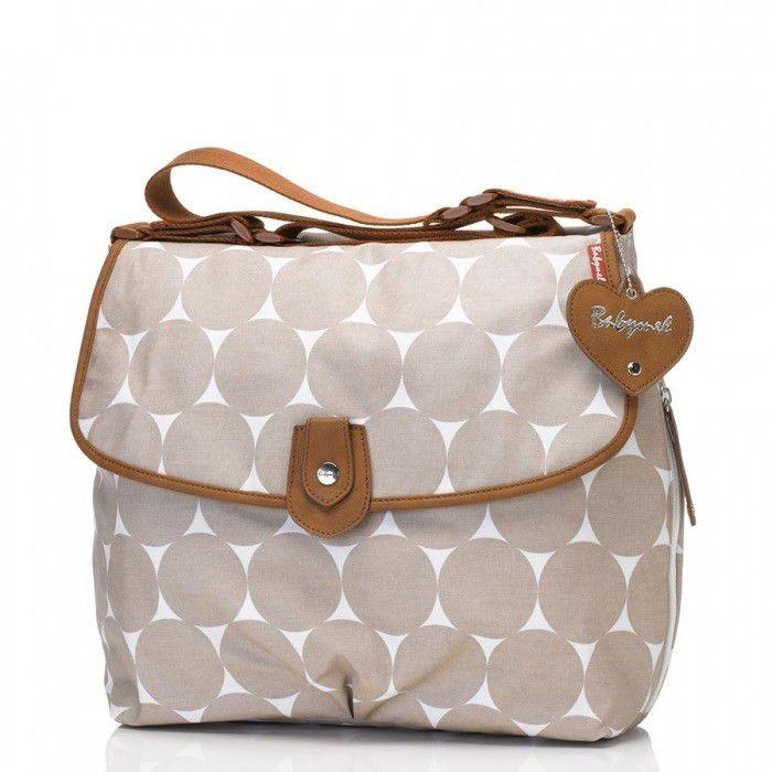 babymel satchel jumbo dot beige buy online in south africa. Black Bedroom Furniture Sets. Home Design Ideas
