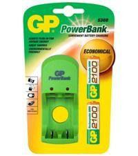 GP Batteries AA 2100 mAh NiMH battery S360 Charger Bundle