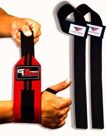 Fitness Freakz Lifting Straps & HD Wrist