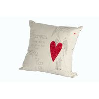 Soya Dekor Mamma Cushion With Print and Applique