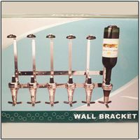 Tandy Wall Bracket with Six Optic Dispenser