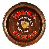 Hansa Pilsner Barrel End