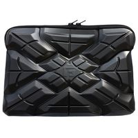 G-FORM Extreme Sleeve Macbook &Protective Case 15, 14 and 14.1 inch (Black) X Pattern