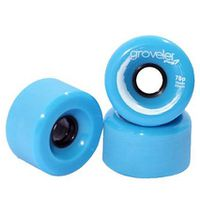 Peg Groveler 78a Longboard Wheels - Blue