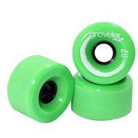 Peg Groveler 83a Longboard Wheels - Green