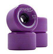 Peg Groveler 87a Longboard Wheels - Purple