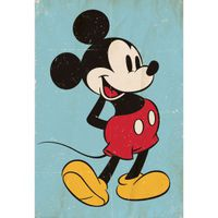 1Wall Mickey Mouse Mural