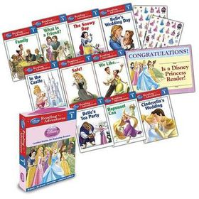 Reading Adventures Disney Princess Level 1 Boxed Set [With 86 Stickers and Parent Letter, and Achievement Certificate]
