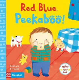 Red, Blue, Peekaboo!
