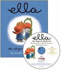Ella the Elegant Elephant Read Along [With Audio CD]