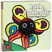 Little Butterfly Finger Puppet Book [With Finger Puppet]