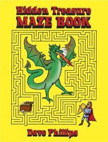 Hidden Treasure Maze Book
