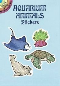 Aquarium Animals Stickers