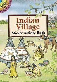 Indian Village Sticker Activity Book