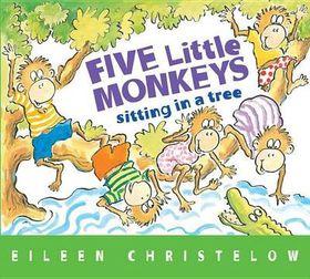 Five Little Monkeys Sitting In Tree Brd