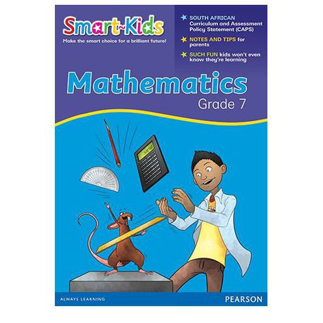 Smart-Kids Achieve! Mathematics Grade 7 Workbook : Grade 7: Workbook