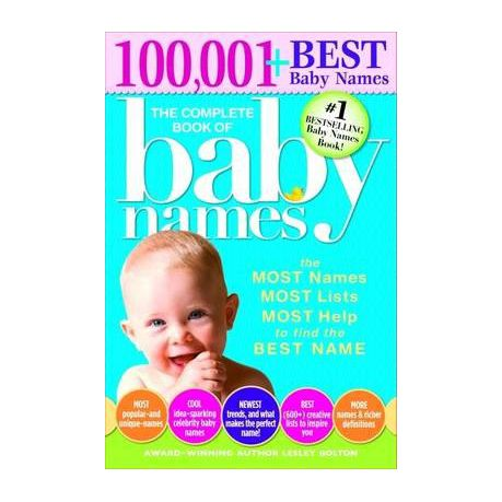 Baby Name Book For