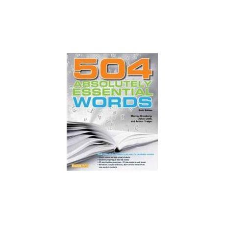 504 Essential Words Book