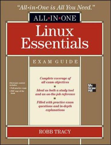 Lpi Linux Essentials Certification All-in-one Exam Guide [with Cdrom ...