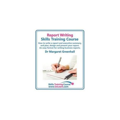 report writing skills training course how to write a report and