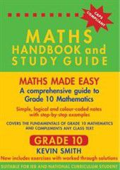 The maths handbook and study guide buy online in south africa the maths handbook and study guide fandeluxe Images