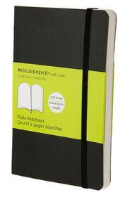 Moleskine Soft Black Pocket Plain Notebook
