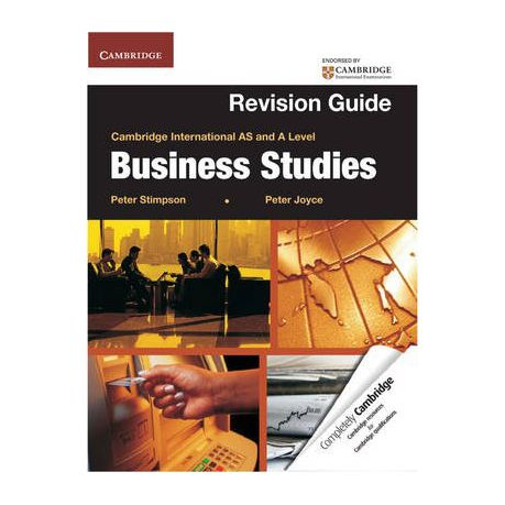 A Level Business Studies Book By Peter Stimpson