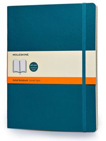 Moleskine Soft Blue Extra Large Ruled Notebook