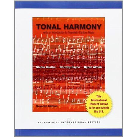 Tonal Harmony Stefan Kostka And Dorothy Payne Buy Online In South