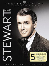 James Stewart: Screen Legend Collection - (Region 1 Import DVD)