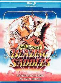 Blazing Saddles - (Region A Import Blu-ray Disc)
