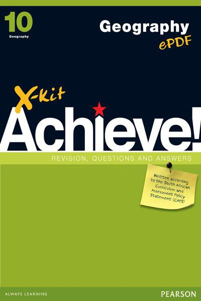 x kit achieve caps geography grade 10 study guide buy online in rh takealot com