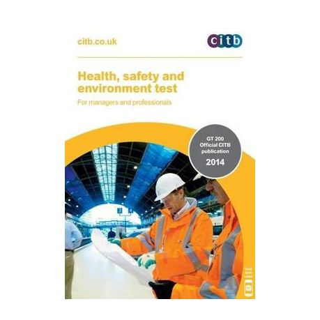 Safety book test and health environment