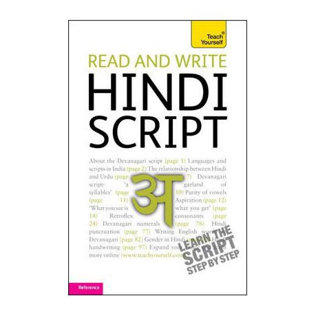 read and write hindi script buy online in south africa