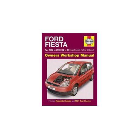 Ford Fiesta Petrol Andsel Service And Repair Manual