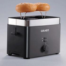 Graef - 2 Slice Toaster - Black