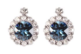 Civetta Spark Brilliance Earring - Made With Swarovksi Montana Crystal