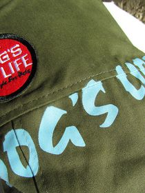 Dog's Life - Army Jacket Olive Green - Small