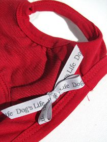 Dog's Life - Bad Hair Cut Funk Tee Red - Extra-Small