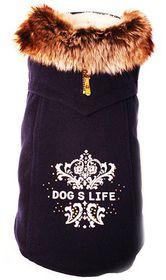 Dog's Life - Winter Duff Coat - Navy - Extra Small